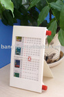 plastic desk clock and calendar