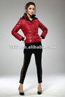 2012 hot selling womens down jacket/100% nylon down jacket