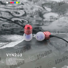 Exquisite engraved designs earphone, perfect for for Samsung, iPod, iPhone