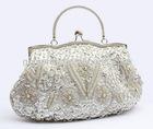 2013 new female BaoZhu embroidery evening bag hand hand bag female a matron of honour bag red bride bag chain oblique cross