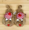 2012 animal indoor slippers fashional winter slipper(KN-SL-72)