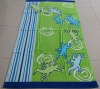 100% cotton reactive printed beach towel
