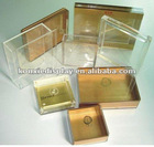 Clear acrylic packing boxes manufacture
