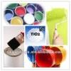 White tire paint composition Titanium Dioxide rutile