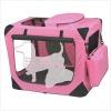 Pink pet carrier bag