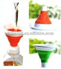 Silica gel Practical Foldable Mini Funnel