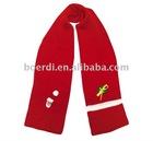 Rpet eco-friendly New Design Popular Xmas scarf