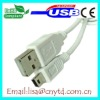 hot sell and white AM to mini5P USB 2.0 cable