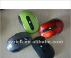 Wireless mouse 2.4G, blue light, red light. 7100 high quality