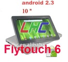 Newest 10.2 inch Android 2.3 Tablet PC MID,Flytouch 3/Flytouch 6,Skye Video Chat