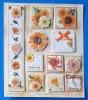 DIY handmade 3D stick-on decoration card sticker (2593)