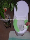 self-adhesive toilet seat cover