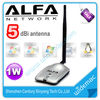 1000mW Awus036H Alfa wifi adapter with 5dBi antenna