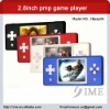 game mp5 player,2.8 inch pmp game digital player,nes,gb smd