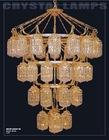 luxurious modern crystal chandelier