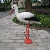 plastic white crane