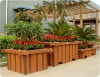 Flower pot,wood plastic composite flower pot,eco-friendly