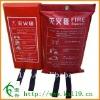 Fiberglass Fire Blanket 1.2*1.2 Soft Bags