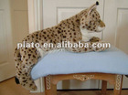 2012 custom plush leopard soft toy