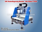 China Mini CNC Router Mini Wood Working Machine 3030