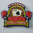Singapore Casino Promotional Soft PVC Fridge Magnet