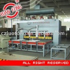 Melamine veneer board production line