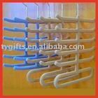 plastic tie hanger