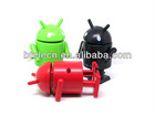 The hottest action mini google Android Robots toy