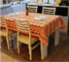 Top quality modern colorful 100%cotton stripe table cloth