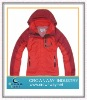 Women's red ski jacket
