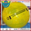 yellow color inflatable water walker ball