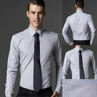 Free shipping 100% cotton custom made men shirt Tuxedo shirt business shirt--fit your body well brand CTD