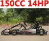 150cc 14HP Racing go kart