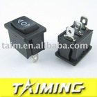 Car switch KCD1-103 MOMENTARY ON