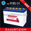dry charged car battery N120