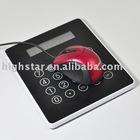 Multifuctional USB Hub Mouse Pad with Calculator