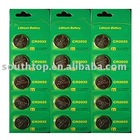 Lithium button cell battery Lithium button cell CR2016, CR2032,CR2025, CR2045 etc.