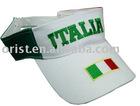 sun visor with logo
