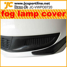 2011 UP ABS and CF material fog lamp cover for VW POLO 6