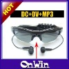 4GB 8GB Spy Sunglasses DVR MP3+DV+DC
