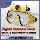 Underwater scuba diving mask swim camera video recorder (EW-DV340)
