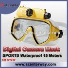 Underwater scuba diving mask swim camera video recorder (EW-DV340)
