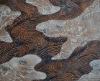 Flocking printing fabric post-processing