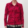 2011 rose silk blouse
