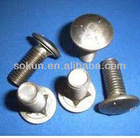 Low carbon steel grade 4.8 Carriage bolt