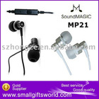 original SoundMAGIC MP21 Earphone in-ear For MP3 MP4 iPhone 3g 4g 4S