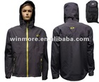 men's rain wear warm rain coat flight jacket
