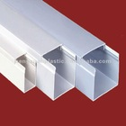 Rigid pvc trunking and cable cover
