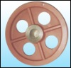 Pulley iron