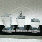 Exquisite clear acrylic ring display,,jewelry display